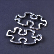 1000 piece Charms jigsaw puzzle Pendant Connector Tibet Silver DIY Jewelry A7469