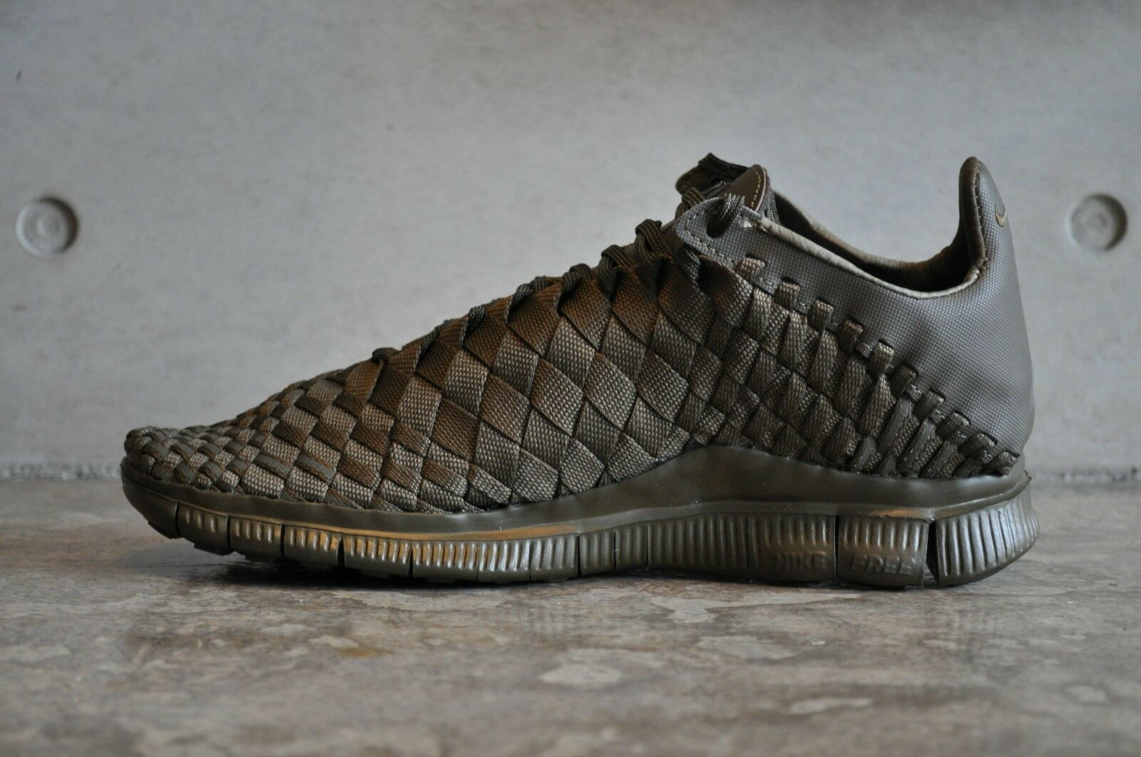 Nike Free Inneva Woven Tech SP Olive - UK Dark Loden/Dark Loden 7 UK - 41 EUR 8 US 6c8882