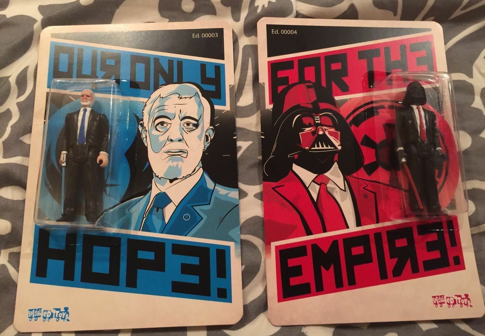 NYCC 2016 Exclusive DKE Our Only Hope For The Empire Set 15 20  Star Wars