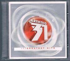 ARTICOLO 31 :// GREATEST HITS  CD COME NUOVO!!!