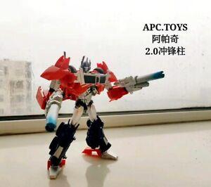 APC Toys APC-001 Attack Prime Optimus Prime Chrome 2.0 Version in stock