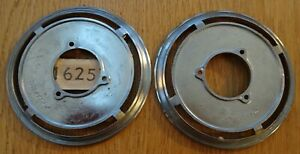 A-PAIR-OF-UNUSED-VAUXHALL-CRESTA-VELOX-E-MODEL-CHROME-FRONT-SIDE-LIGHT-TRIMS
