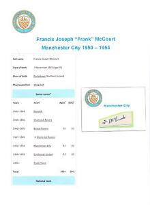 FRANK-McCOURT-MANCHESTER-CITY-1950-1954-RARE-ORIGINAL-HAND-SIGNED-CUTTING-CARD