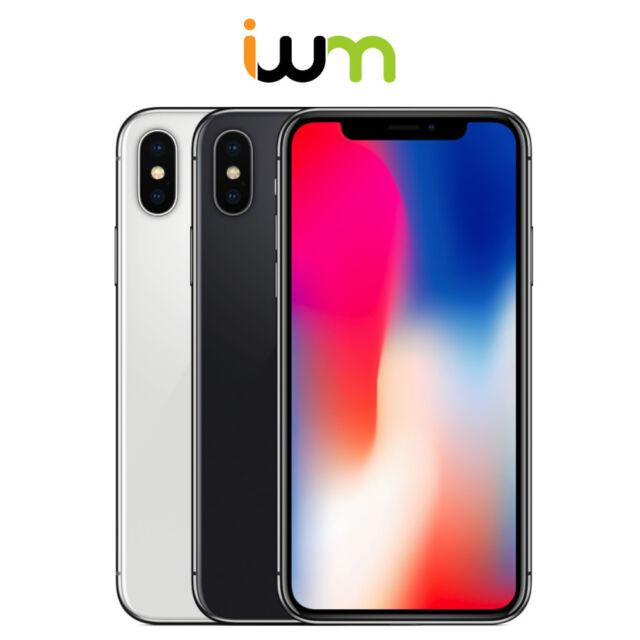 Apple iPhone X 64GB / 256GB - Unlocked/ Verizon/ AT&T/ T-Mobile/ Sprint