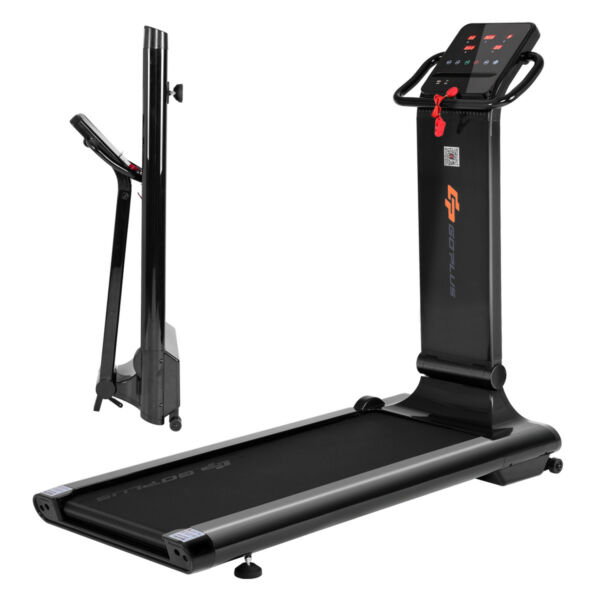 5c3c623f2f7 1.5HP LED Compact Folding Treadmill Exercise Fitness Running Machine w  USB  MP3 for sale online
