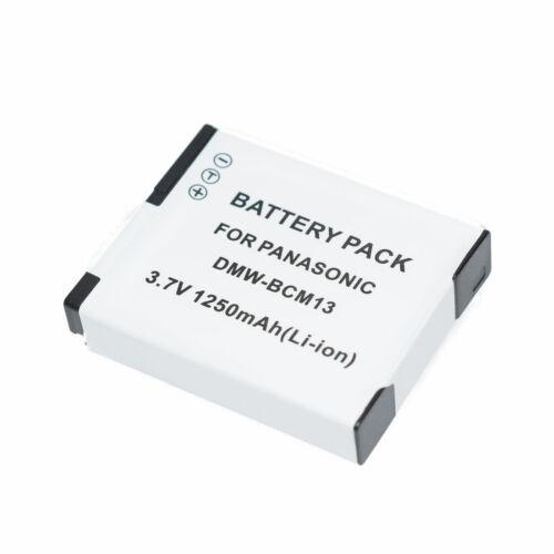 Batería Para Panasonic DMW-BCM13E de Litio-ION LUMIX TZ60 2 un TZ71 TZ55 TZ70