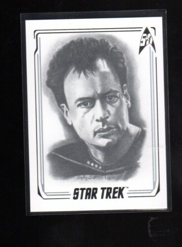 Star Trek 50th Anniversary Q A22 Artifex card
