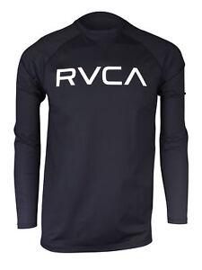 RVCA-Mens-VA-Sport-Micro-Mesh-LS-Surf-T-Shirt-Black