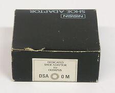 Nissin Dedicated Shoe Adapter for Olympus OM 35mm cameras