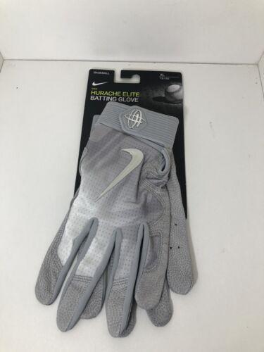 Nike Baseball Batting Gloves Huarache Elite Grey PGB543-07 Size XL