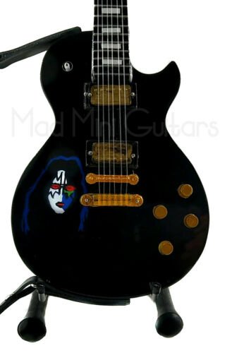 Miniature Guitar ACE FREHLEY with stand /& strap KISS /'78 Solo Album cover
