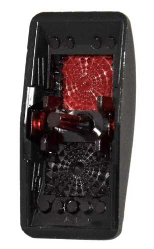 Red Window Labeled Contura II Rocker Switch COVER ONLY Cabin Light
