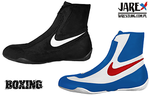 NIKE MACHOMAI MID Boxing Shoes Boxen Schuhe Chaussures de Boxe