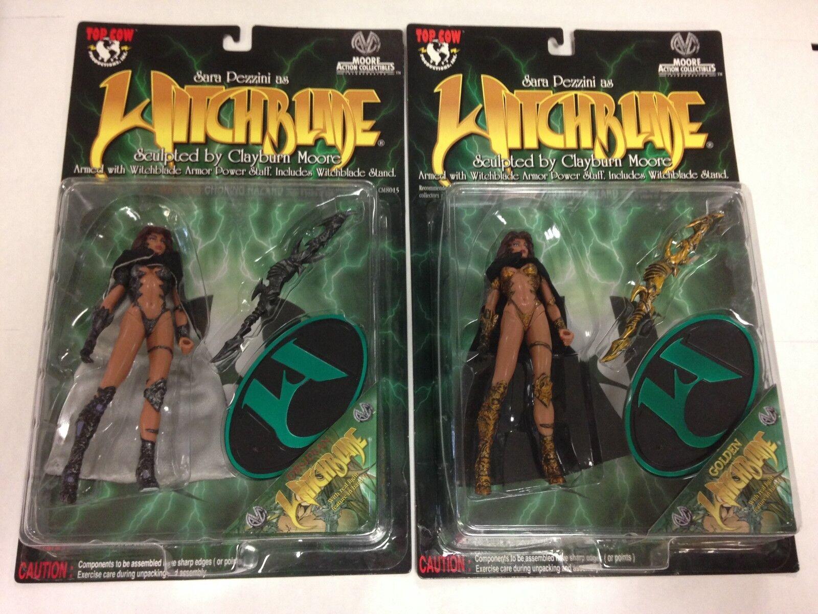 Witchblade sexy Clayburn Moore azione cifra cifra cifra oroen e Obsidian variants e2566e