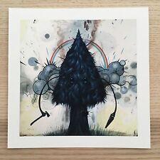 "Self Destructive Giclee Print by Jeff Soto 5"" x 5"" Ed 300 with CoA Tiny Showcase"