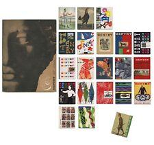 1951–57 William Segal GENTRY Magazine 22-issue COMPLETE SET Alvin Lustig DESIGN
