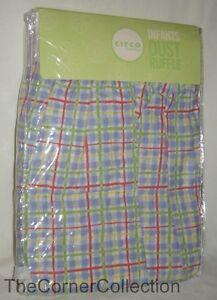 Circo Target Crib Dust Ruffle Bed Skirt Muted Primary