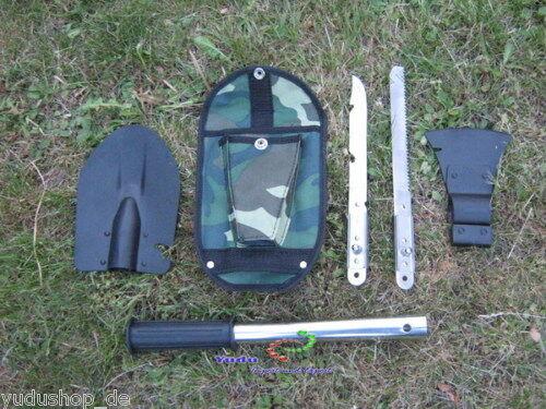 6-teilige Campingwerkzeug Kombi-Trekking-Werkzeug
