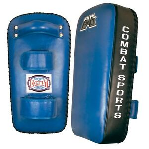 Combat Sports Air Muay Thai Pads MMA Training Kickboxing Strike Kick Pads Blue