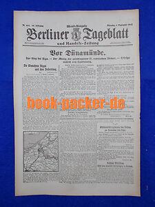 Enthousiaste De Berlin Dealer (4.9.1917): Avant Dünamünde-afficher Le Titre D'origine Gagner Une Grande Admiration Et On Fait Largement Confiance à La Maison Et à L'éTranger.