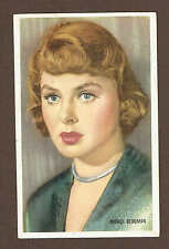 1948 Ingrid Bergman 3x5 as Refugee in L'Arc De Triomphe, by Kwatta Chocolates