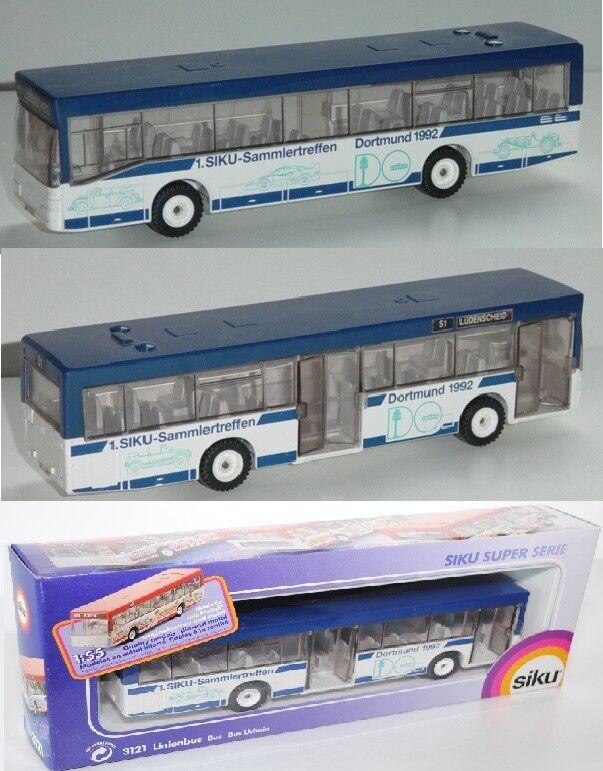 Siku Super 3121 Mercedes-Benz Linienomnibus, 1. Siku-Sammlertreffen, Werbemodell Werbemodell Werbemodell 4f76a9