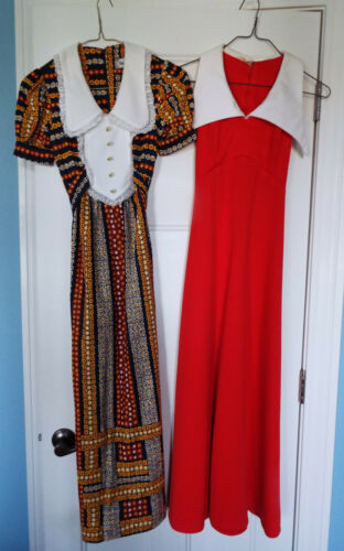 Vintage 70's Dresses Patricia Fair Younkers Mod Wi