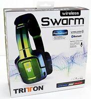 Mad Catz Tritton Swarm Flip Green Headband Headsets