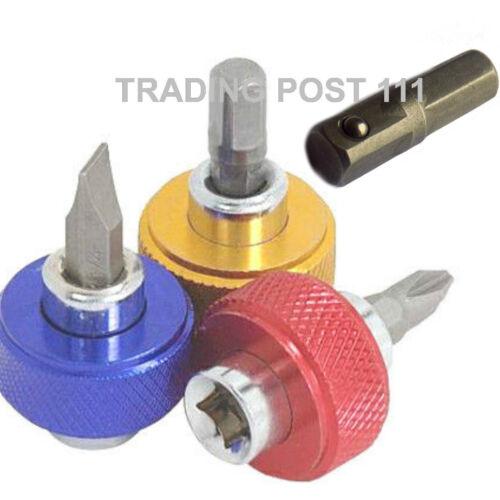 "Neilsen Magnetic Bit Holder Screwdriver 1//4/"" Hex Drive  Flat Philips 1605*"