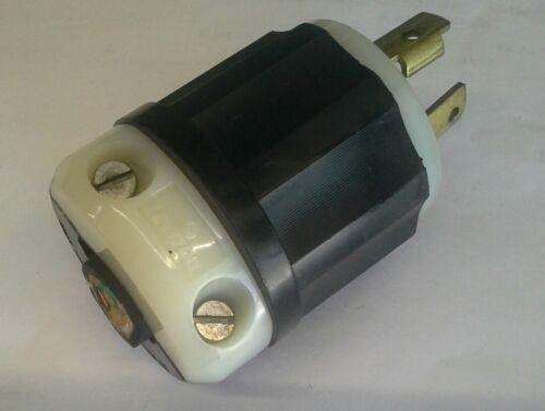 Assorted Brands NEMA L6-30P 250V 30 Amp 3W 2P Twist Lock Male Plug