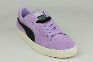 3277cd498777 PUMA SUEDE DIAMOND SUPPLY CO. ORCHID BLOOM BLACK MENS 365650-02 NEW ...