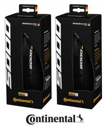 Clincher or Tubeless Road Tires Continental Grand Prix 5000 Tires 2 Pack