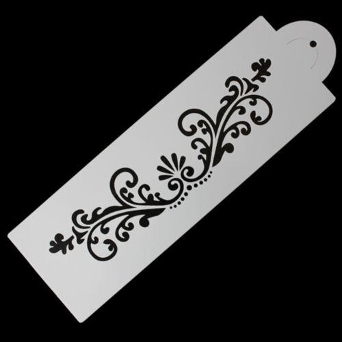 Spitze-Blumen-Rand-Kuchen-Dekor Sugarcraft-Fondant-Backen-Werkzeug  rf
