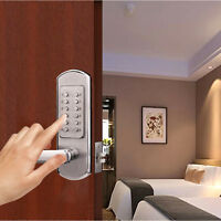 Mechanical Door Lock Keyless Entry Exterior Combination Lock Digital Code
