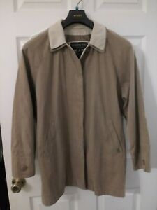 Womens London Fog 3 4 Length Jacket Trench Coat Ebay