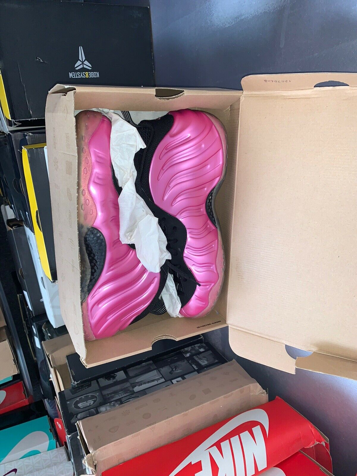 Nike Air FOAMPOSITE PRO ONE SOUTH BEACH ELECTRIC ...