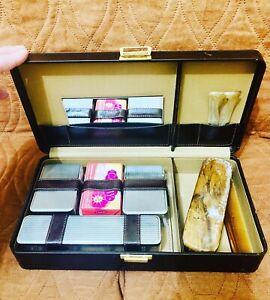 Set necessaire vintage da viaggio anni 60