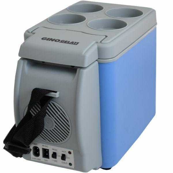 6 Liter Mini Kühlschrank & Warmhaltebox 12V + 220V Kühlbox