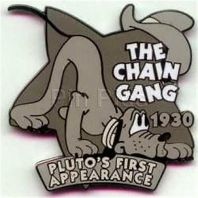 DISNEY STORE COUNTDOWN TO THE MILLENNIUM PIN #42 THE CHAIN GANG PLUTO