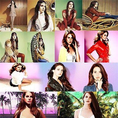 Lana Del Rey Soul Music Singer Art FABRIC 24/'/'X13/'/'inch Poster 062