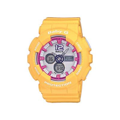 Casio Baby-G Uhr BA-120-9BER Analog, Digital Gelb