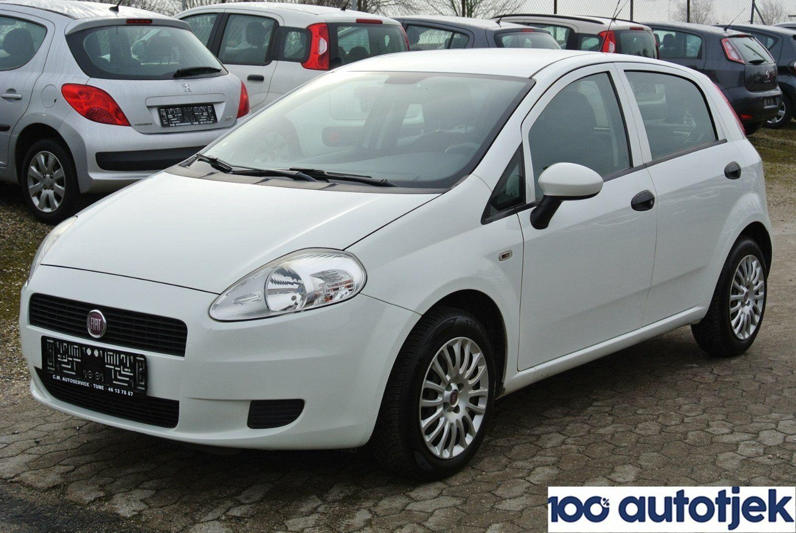 Fiat Grande Punto 1,4 MTA 5d - 49.900 kr.