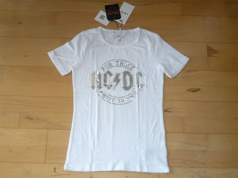 Bluse, *NY* AC/DC T-shirt, LMTD