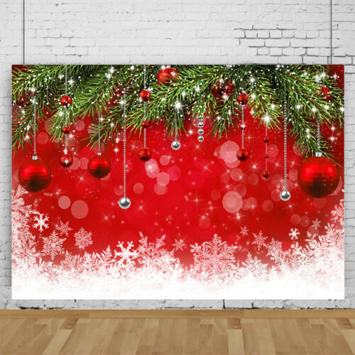 Christmas Photography Backdrop Photo Background Studio Party Props Home