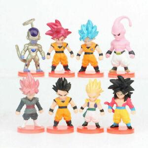 Dragon Ball Frieza Son Goku Vegeta 21 PCS Anime Action Figure Toy For Kids Gift