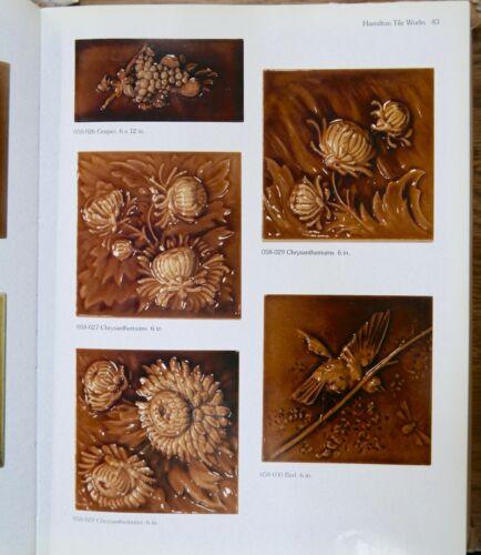 Hamilton Antique Tile Victorian Chrysanthemum Version 1