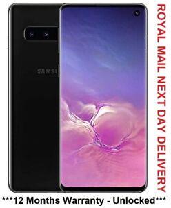 Nouveau-Samsung-Galaxy-S10-SM-G973F-128-Go-Prism-Noir-Debloque-Dual-SIM-UK-version