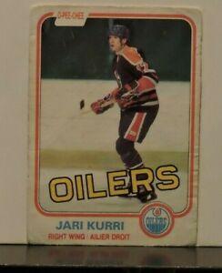 1981-O-Pee-Chee-Hockey-Card-107-Jari-Kurri-RC