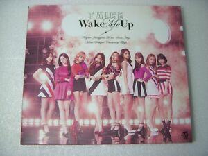 Twice Wake Me Up Japan Ltd Cd Dvd No Photocard 4943674279944 Ebay