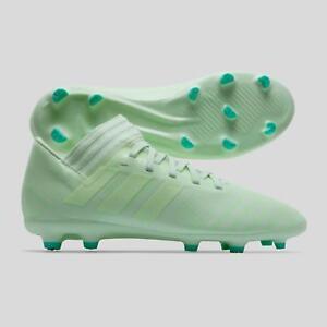 3bdd2a719 Adidas Nemeziz 17.3 Firm Ground Kids Football Boots Studs Trainers ...